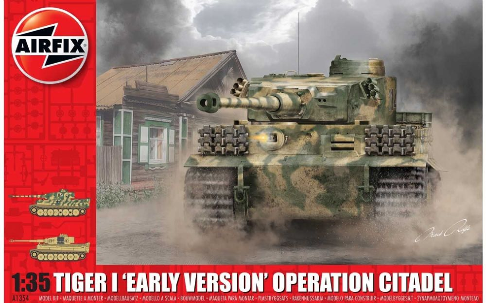 AIRFIX A1354 Tiger-1 Early Version - Operation Citadel